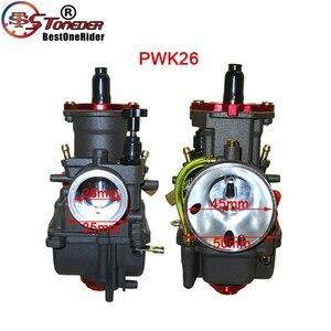 Image 3 - STONEDER NIBBI Carb PWK24 & PWK26 & PWK28 & PWK30 Racing Vergaser Für Pit Dirt Bike ATV Quad Moped Roller motor