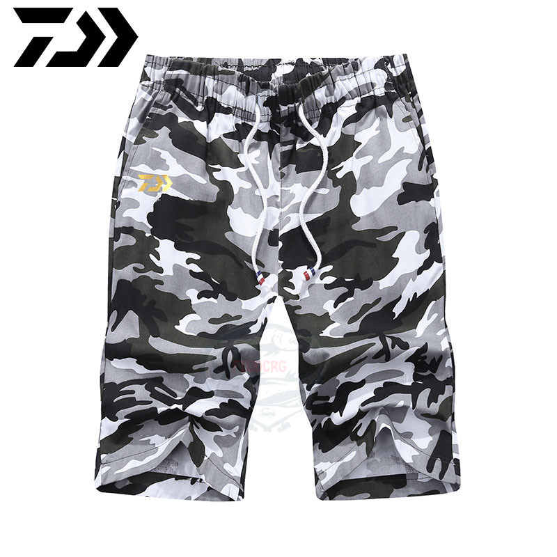 Daiwa Cotton Shorts Summer Beach Short Male Casual Shorts Mens Fishing Boardshorts High Quality Elas