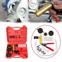 Vacuum Tester Brake Bleeder Gasoline Engine Compression Hand Pump Auto Petrol Gas Cylinder Automobile Pressure Gauge Automotive
