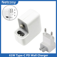 61W Type C PD Wall Charger Power Adapter For Macbook Pro A1708 A1706 A1989 A1898 USB C AC Adapter For ipad A1979 A1980 A2013