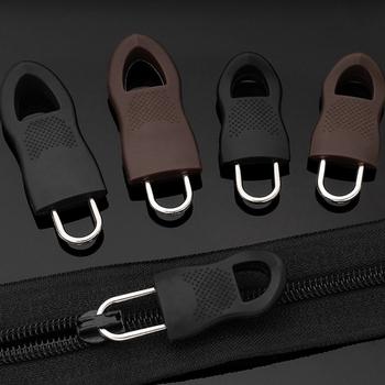 16 sztuk 8 sztuk wymiana Zipper ściągacz do odzieży Zip Fixer do torby podróżnej walizka plecak Zipper Pull Fixer do namiotu tanie i dobre opinie 15*44CM 14*35CM CN (pochodzenie) Suwaki do zamków błyskawicznych Malowane Metal STAINLESS STEEL Cam blokady Practical ConvenientSturdy
