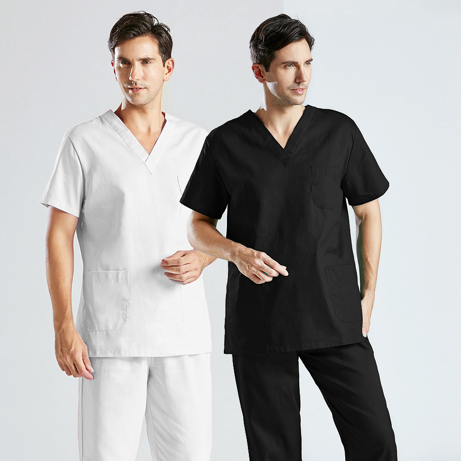 Pet Hospital New Nurse Uniform Set Surgery Uniform Dental Clinic Beauty Salon Pharmacy Workwear Nursing Uniform Scrubs Lab Coat