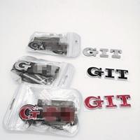 Подходит для Volkswagen Polo Golf GTI Автомобильные Наклейки Volkswagen GTI наклейки на бампер крутой багажник стандартные автомобильные Логотипы