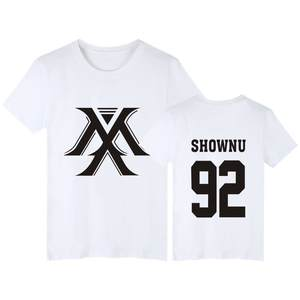 Monsta X Concert Celebrity Style T-shirt Related Products Should Aid Song-promotion Costume