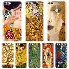Back Cover For Huawei P9 P10 P20 Lite Pro Plus P Smart Gustav Klimt Soft Silicone Phone Case For Huawei P7 P8 P9 Lite Mini 2017(China)