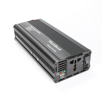 Power Inverter 12V to 220V converter DC 12V to AC 220V Portable Car inversor 12 v 220 v 12v power supply Modified Sine Wave 1500w dc 12v to ac 220v 50hz modified wave power inverter 5v usb port