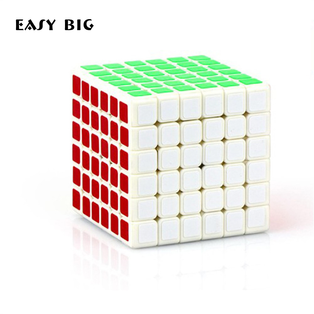 6x6x6 Educational Toys Cubes Magic Cube Professional Competition Cube Puzzle Cool Children Toys Kids Gifts TH0069