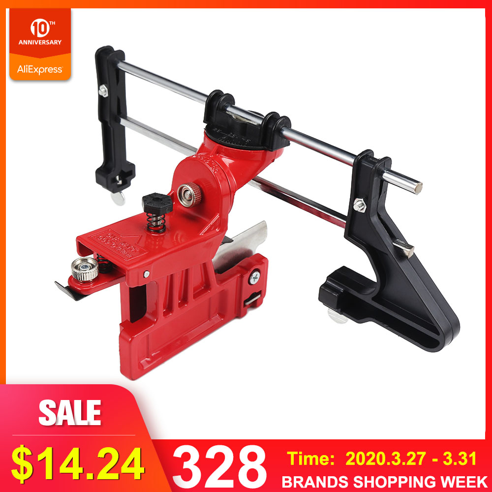 Professional Lawn Mower Chainsaw Chain File Guide Sharpener Grinding Guide For Garden Chain Saw Sharpener Garden Tools