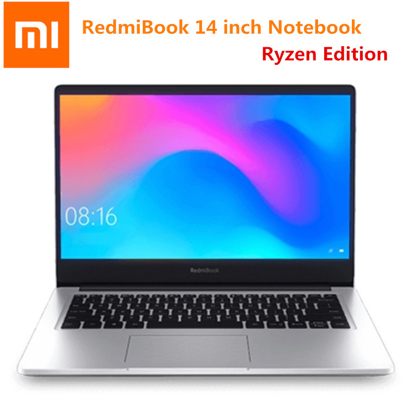 New Arrival Xiaomi RedmiBook 14 Inch Notebook Ryzen Edition AMD Ryzen 5 8GB 256GB/512 Ryzen 7 16GB 512GB RedmiBook FHD Laptop