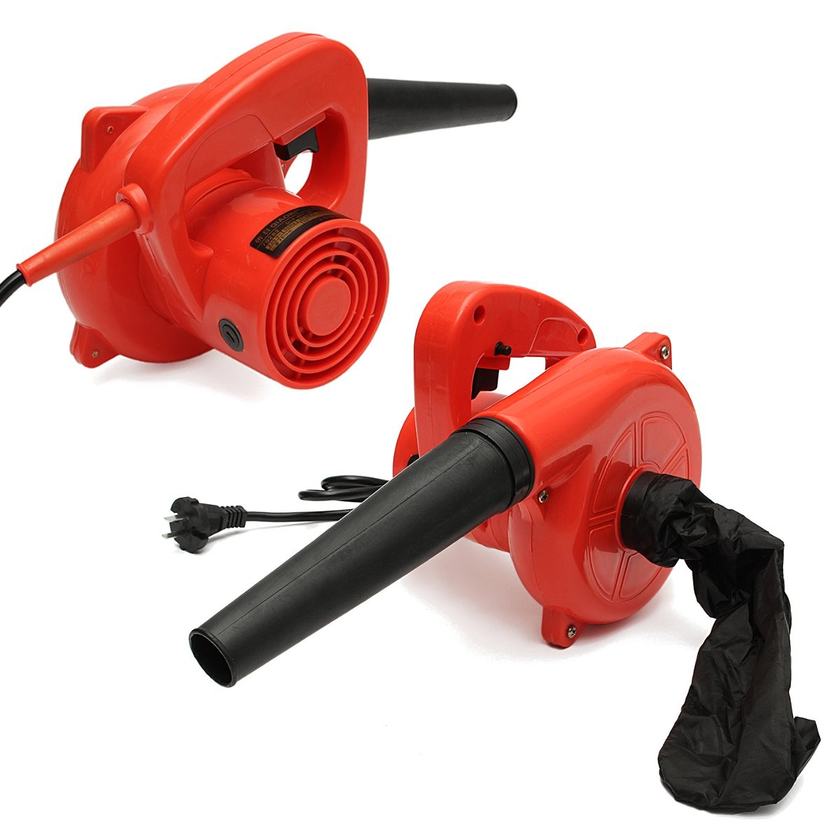 220V 600W 13000rpm Multifunctional Portable Electric Blower Duster Dust Collector With Suction Head And Bag For Removing Dust
