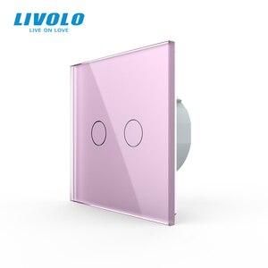 Image 2 - Livolo luxury Wall Touch Sensor Switch,Light Switch,Crystal Glass,Power Socket,multifunctional sockets,Free Choice,no logo
