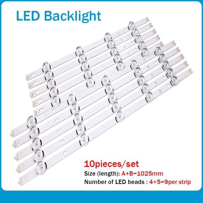 """עכברים - מקלדות רצועת LED אחורית עבור LG 49LB620V Innotek ד.ר.ת 3.0 49"""" 49LB552 49LB629V 6916l-1788A 6916l-1789A 49LF620V 49UF6430 6916L-1944A (1)"""