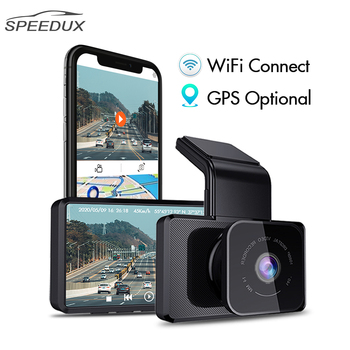 цена на Dashcam 3.0 Inch Car DVR Wifi GPS FHD 1080P Video Dash Camera Recorder With Rear View Camera Night Vision Auto Camera