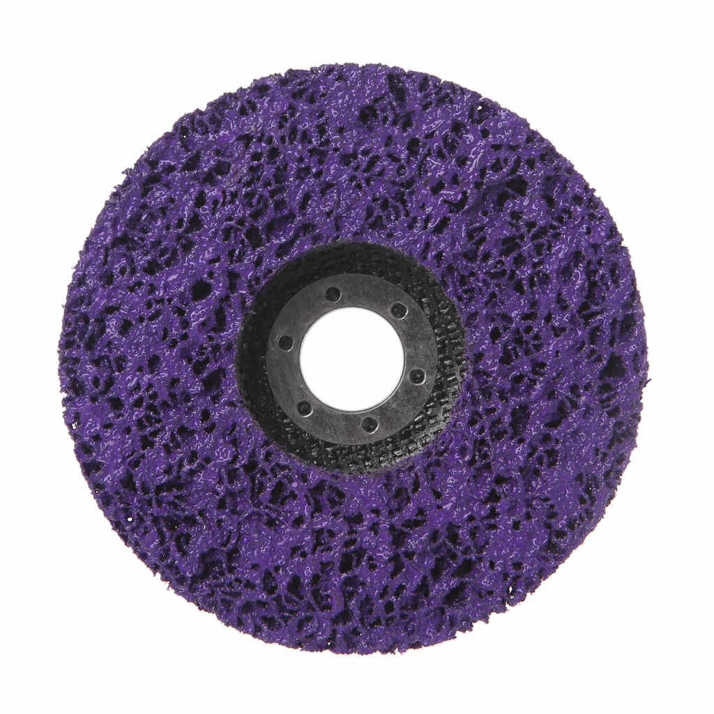 125 мм полиполосная дисковая абразивная краска для удаления ржавчины угловой
