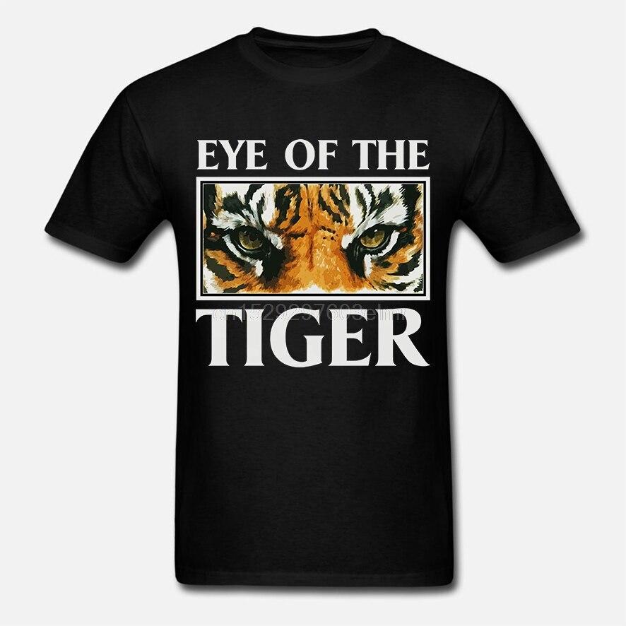 Sobreviviente de ojo de tigre de la banda de Rock película de Rocky negra  para hombre Camiseta tamaño S a 3XL manga T camisa verano de los hombres  Tee Tops| | - AliExpress