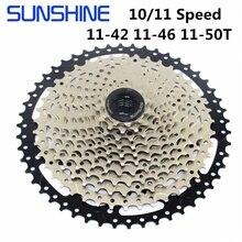 שמש קלטת 11 מהירות 11 50T 11 46T 11 42T 10 מהירות MTB הר אופני קלטת שמש משלוח גלגל תואם SHIMANO SRAM