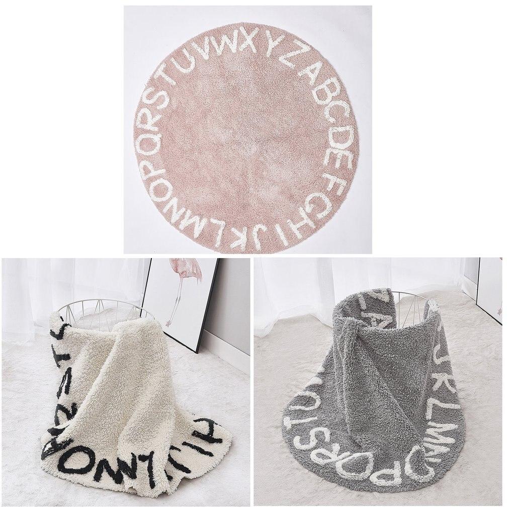 Tapis de jeu pour bébé en mousse de Polyester souple de Style nordique 26 lettres