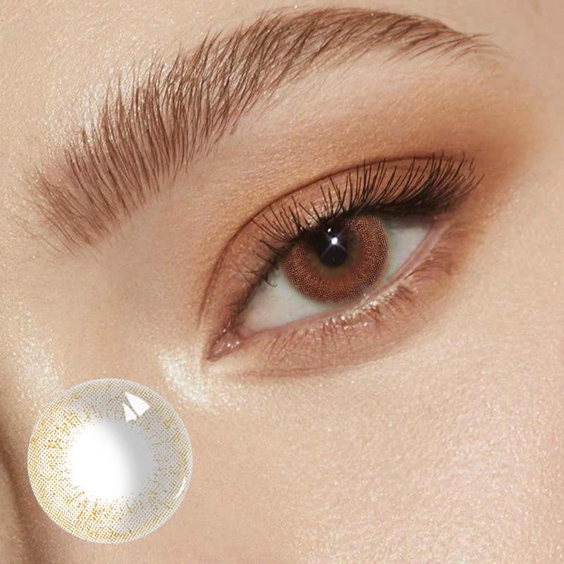 Krótkowzroczność stopień piękno uczeń kolorowe soczewki kontaktowe do oczu korekta wzroku roczne użycie kosmetyków Halloween Cosplay Wear