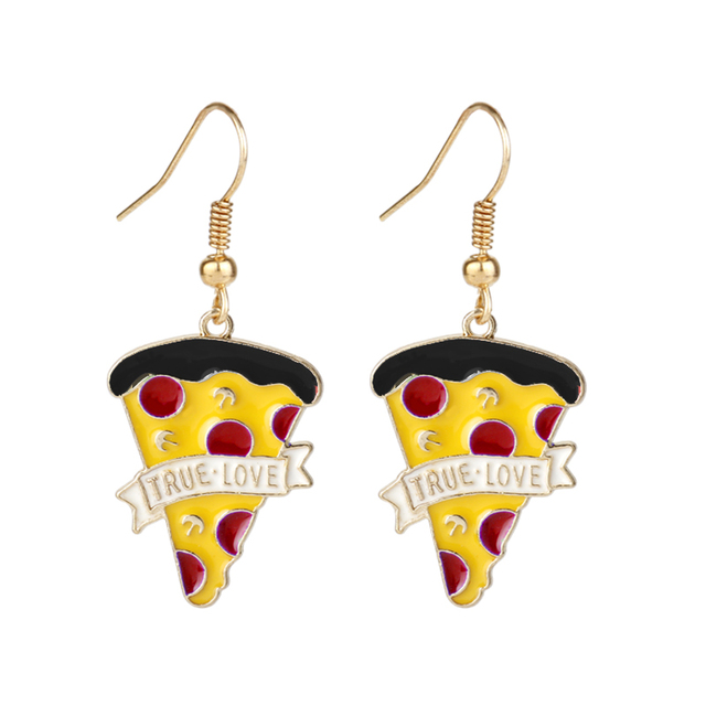 Pizza Earrings 1