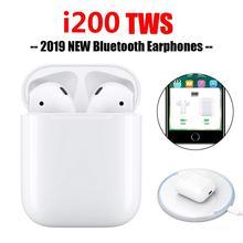 EastVita i200 TWS Wireless Bluetooth 5.0 Headsets 6D Super Bass Earphone Charging Earphones