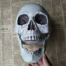Fake Skeleton Halloween Trick Props Plastic  Figurine Party Decoration For Haunted House Home