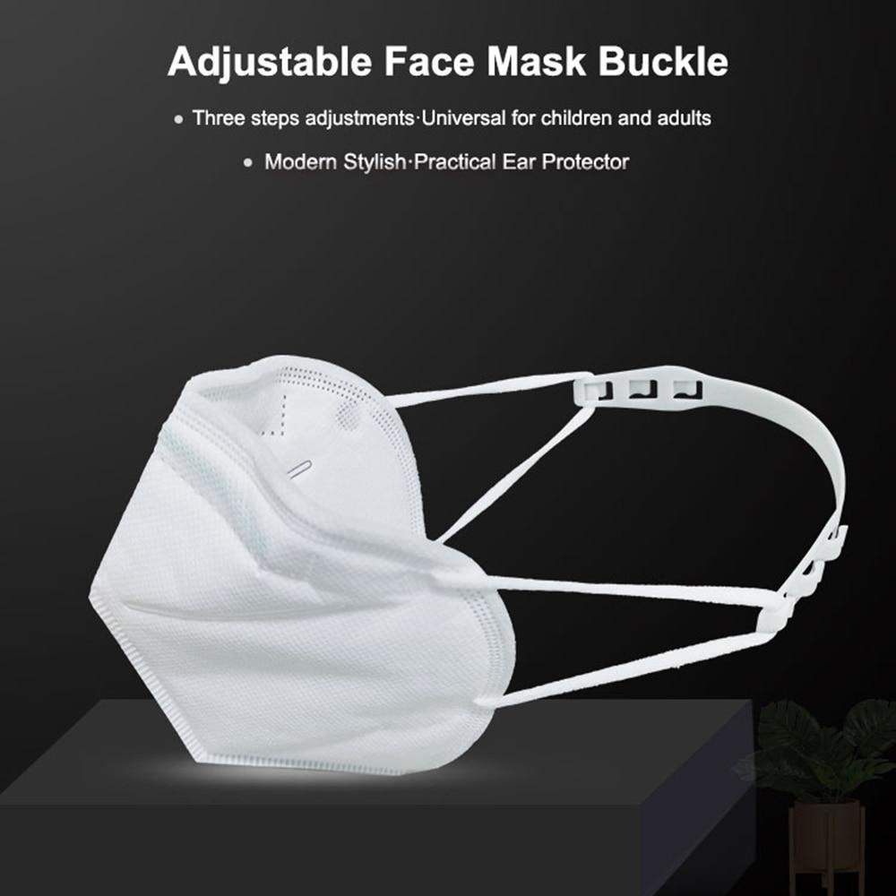3pcs Adjustable Non-slip Face Mask Ear Hook Holder Buckles Adult Kids Earache Preventions Fixer Mask Accessories