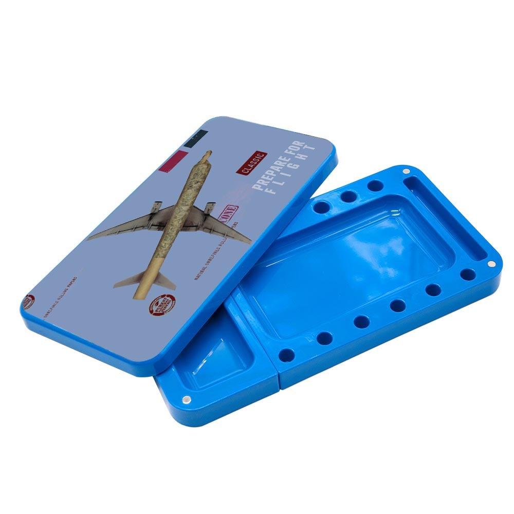 HONEYPUFF пластиковый поднос для сигарет, многофункциональный акриловый поднос для хранения табака высокой емкости