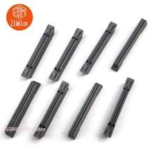 Hoja de carburo ranurado, 10 Uds., MGMN200 G, PC9030, 2mm, hoja de corte de doble cabezal, herramienta de torno MGMN200 G, MGMN200 G PC9030