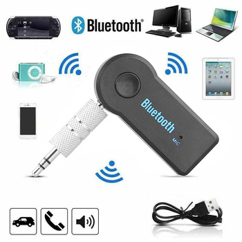 Wireless Bluetooth 5.0 Receiver Adapter Mini Stereo 3.5mm Jack For Car Music Audio Aux Headphone Reciever Wireless Adapter image