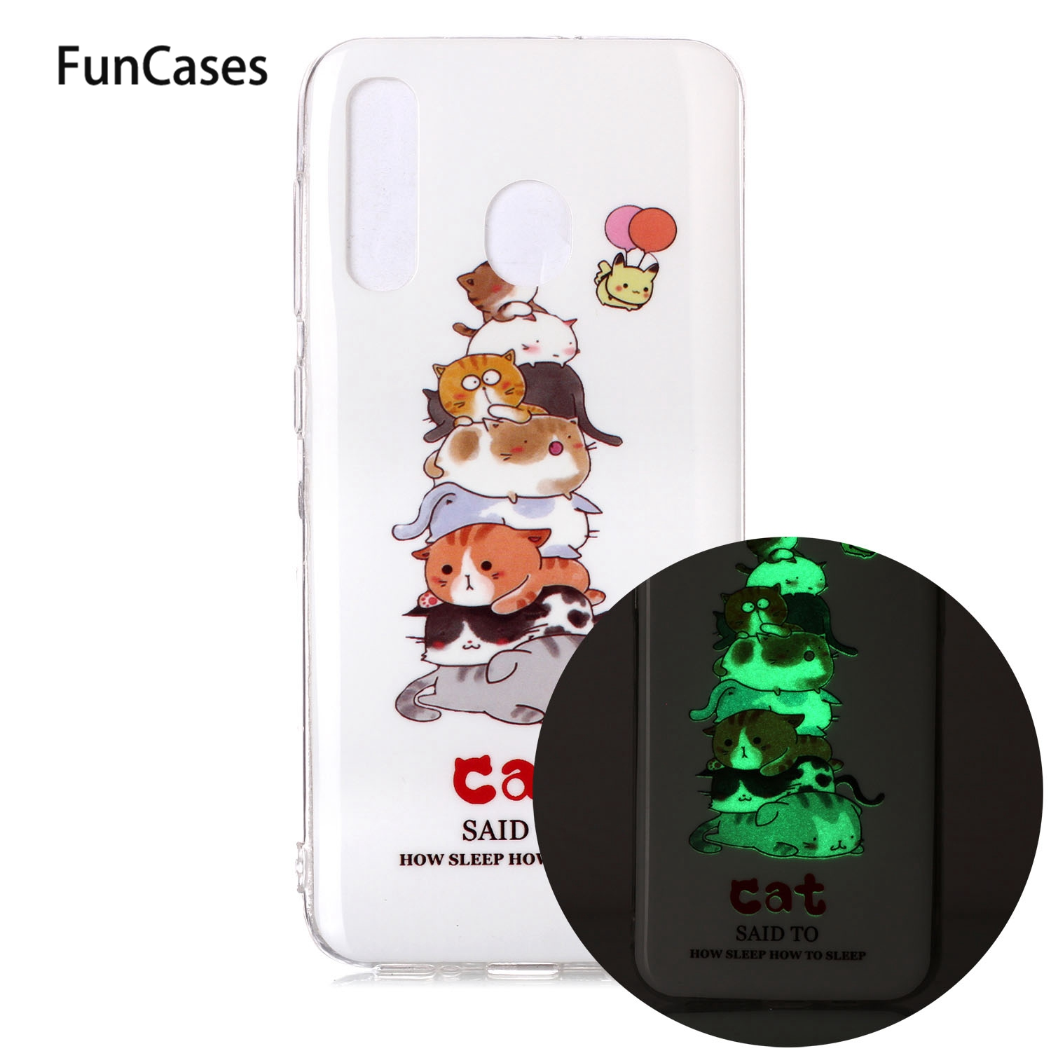 Lovely Mobile Phone Covers For <font><b>capinha</b></font> <font><b>Samsung</b></font> <font><b>A30</b></font> Hoesje Glossy Mobile Phone sFor <font><b>Samsung</b></font> Galaxy cover A20 Luminous TPU Case image