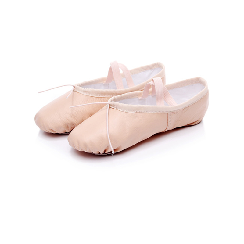 Tiejian Genuine Leather Stretch Jazz Dance Shoes For Women Ballet Jazzy Dancing Shoe Teachers's Dance Sandals Excercise Shoe