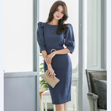 New winter Women Sexy Autumn Slim Fit Dress Wear to work Office Lady B