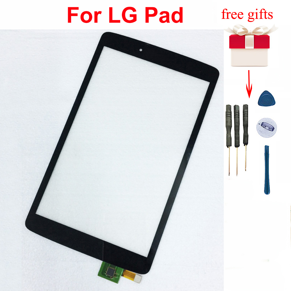 dotykový displej LG v490 - For LG V490 Touch Screen Digitizer Replacement for LG Pad 8.0 V480 Touch Screen Sensor Glass without LCD Display Screen