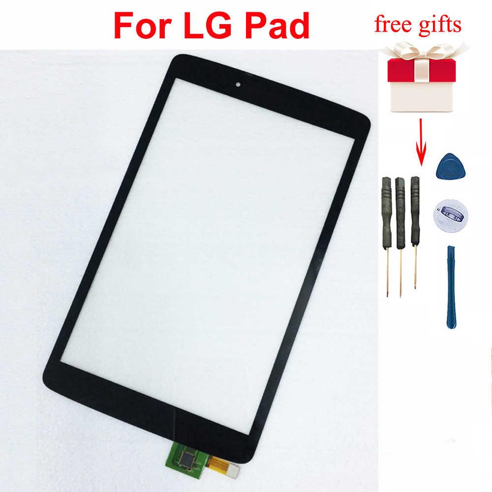 Para LG V490 pantalla táctil digitalizador reemplazo para LG Pad 8,0 V480 pantalla táctil Sensor vidrio sin pantalla LCD