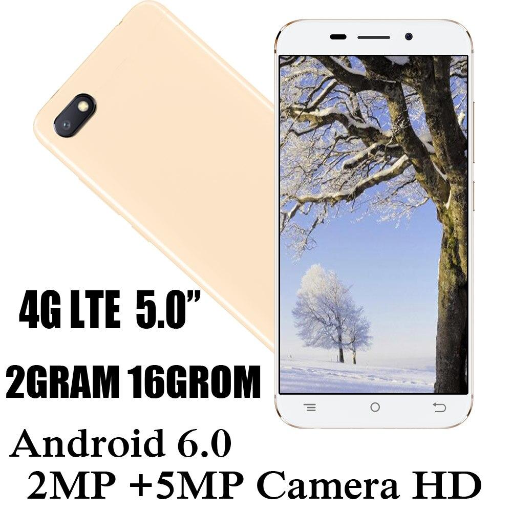 Мобильный телефон 4G LTE 2 Гб ОЗУ 16 Гб ПЗУ четырехъядерный процессор A90 сотовые телефоны 2 Мп + 5 Мп фронтальная/задняя камера 5,0 дюйма сотовые тел...