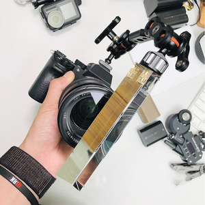 Image 1 - VLOG filtre à lentille triangulaire photographie cristal filtre magique lumière cristalline Halo lentille en verre optique pour caméscopes appareil photo reflex numérique