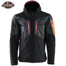 รถจักรยานยนต์กันน้ำเสื้อแจ็คเก็ตอุ่นฤดูหนาวความร้อนChaqueta Moto Wearable Motocrossแจ็คเก็ต5Pcs Motoป้องกัน