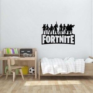 Fortnites наклейки на стену, наклейки для дома, для крепости, для ночи, резные, для спальни, для гостиной, наклейки на стену, для детской комнаты, Н...