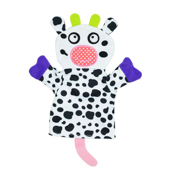 New Animal Hand Puppet / Bath Towel Baby Toy Teether Rattle Towels Toys Baby Bath Accessories