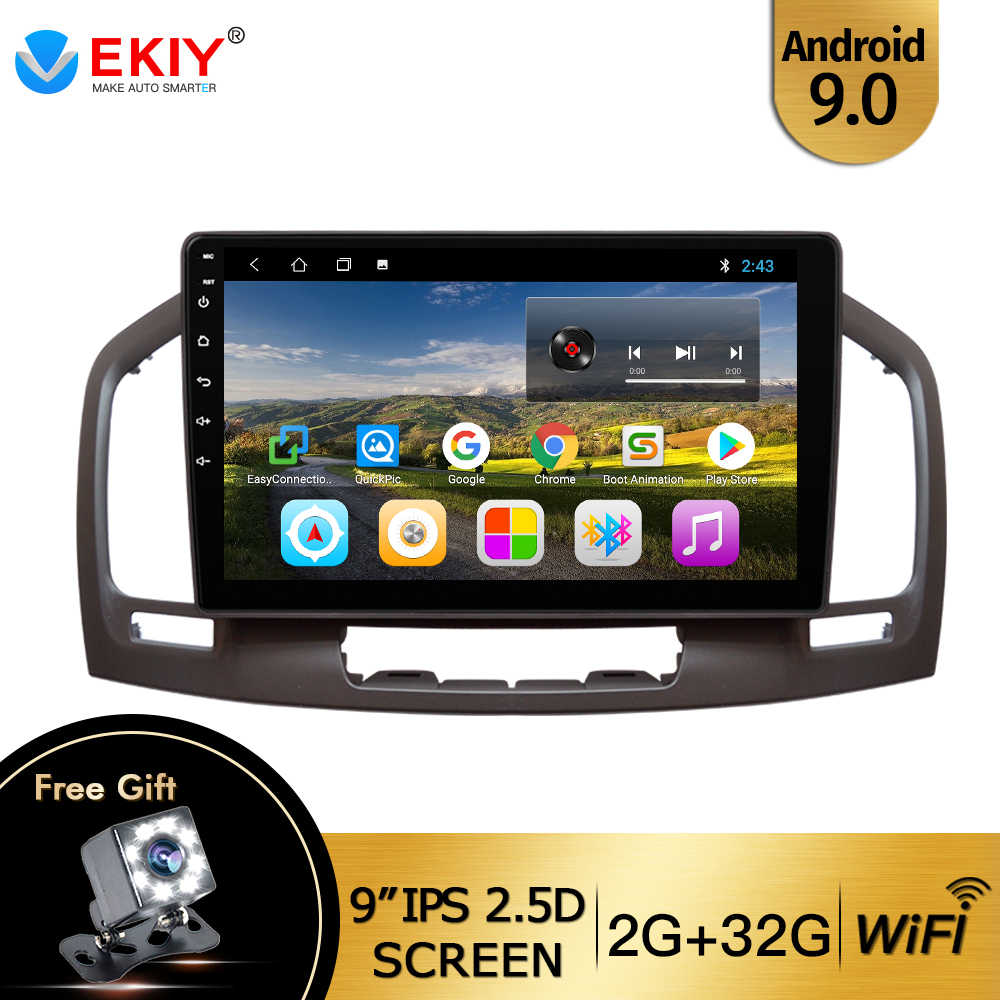 EKIY 9 ''IPS Android 9.0 GPS Multimedia Video Radio Player Per Opel Insignia 2009 2010-2013 DVD Auto radio Stereo Con Canbus