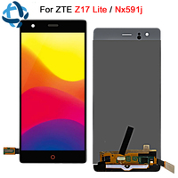 5.5For ZTE Nubia Z17 Lite LCD Display Digitizer Touch Panel Screen Assembly NX591J lcd For ZTE Z17 Lite Replacement Part