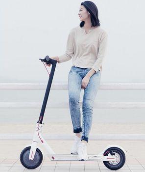 (EU MAGAZZINO) 2019 Xiao mi mi Scooter elettrico mi jia M365 Pro di Smart E kick scooter mi ni pieghevole Hoverboard Longboard Per Adulti 45km