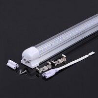 LED Tube Light T8 V Shaped Integrated 4FT 5FT 6FT 8FT 110V 220V Double Side High Brightness LED Lamp