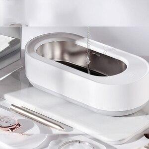 Image 2 - EraClean חכם שליטה קולי מנקה 45000Hz גבוהה תדר רטט תכשיטי משקפיים מכונת ניקוי מנקה