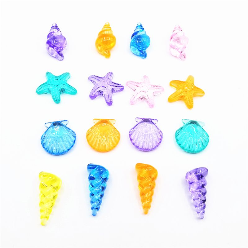 Animal Car Fruit Acrylic Beads Classroom Reward Party Bag Filler Kids Room Fish Tank Decoration  Y4UD
