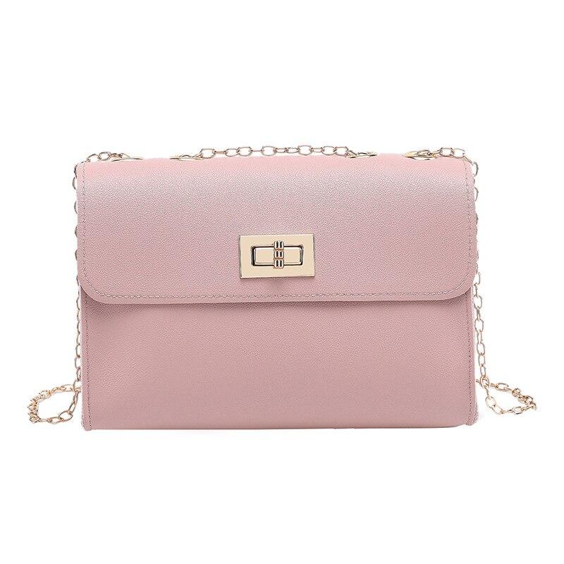 Bags For Women 2020Women Pu Leather Shoulder Bags Girls Brief Flap Women's Casual Messenger Bags Crossbody Bags