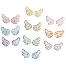 Наклейка на одежду с вышивкой «ангельские крылья»