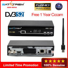 Satellite TV Receiver fta digital receptor satelite cccam espa a spain lineas clines server hd free usb enthernet DVB S2 HD full(China)