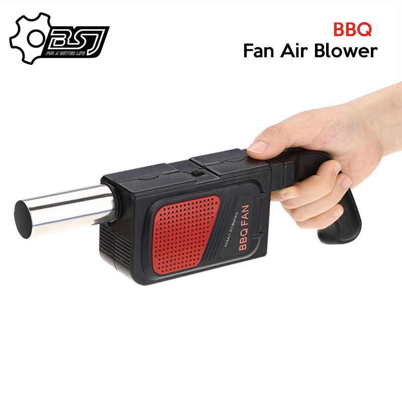 Portable Handheld Electric BBQ Fan Air Blower for Outdoor Camping Picnic Barbecue Cooking Tool Grill Accessories