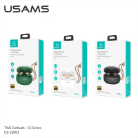 USAMS Bluetooth 5.0 TWS Wireless Earbuds Charging Box Headphones Stereo Music Earbuds Sport Gaming Headset For IOS Andriod Phone